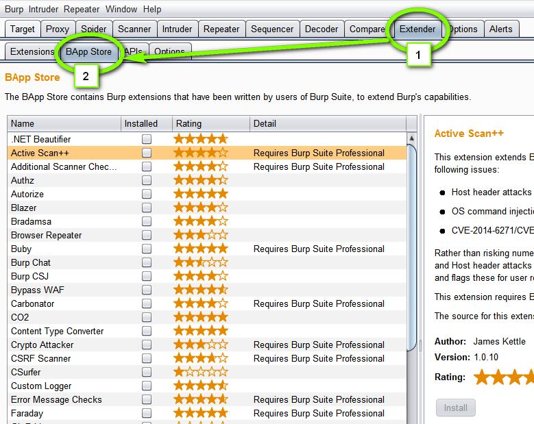 My Favorite Burp Suite Extensions – WebBreacher's Hacking