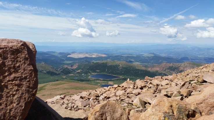 Top of Pike's Peak