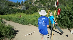 Atlatl Dart in the Air