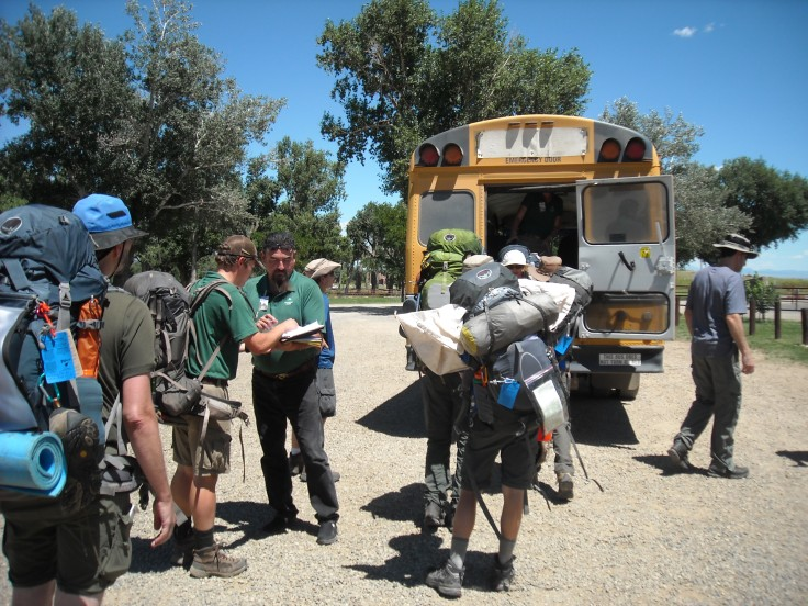 Getting on the Bus to the Backcountry