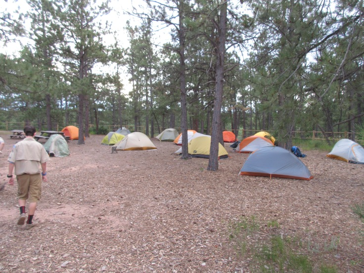 Scout Campground at The Academy