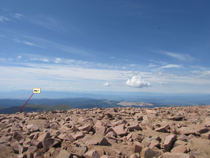 Me on Top of Pike's Peak