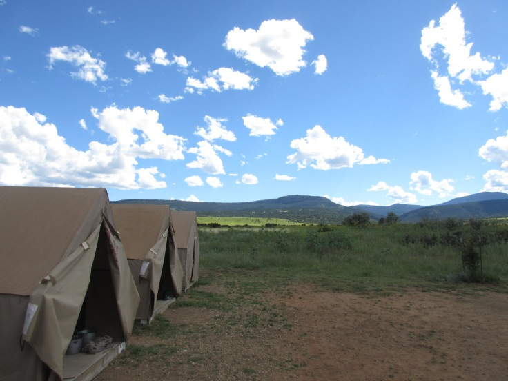 Our Tents at Philmont